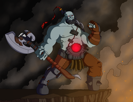 Sion the Undead Juggernaut by Nickarooski