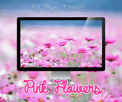 Pink Flowers by FLOPPYTUTOS14