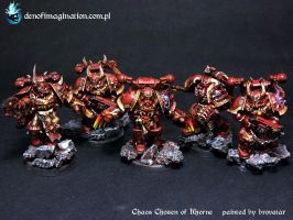 Chaos Chosen of Khorne by Brovatar