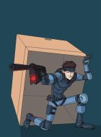 Solid Snake by DOGiukas