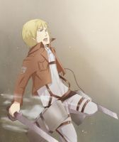 Attack on Titan - Armin by Pheonixrain