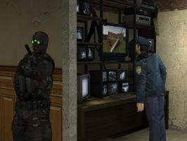 Sneaky Sam Fisher 1 by Tyger18