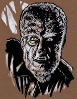 THE WOLFMAN by JollyGorilla