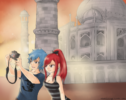 Tourist AU -India by SnowBreeze-Puff