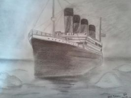 R.M.S Titanic by animelover287