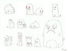 monsters by Aiko-Katon