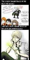 Draco before and after by MiiBT