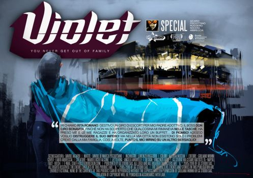 Violet#SPECIAL NAPOLI-REAL 2017///COVER by GGSTUDIO