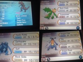 Shiny four pokemon pack for sale :) by alucardserasfangirl