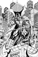 Spawn by c crain inks by BDStevens