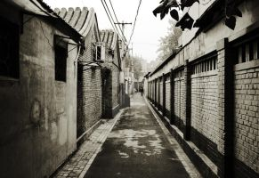 Colourful hutong life by Beschty