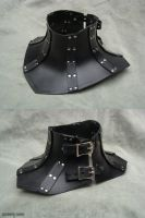 Corset collar (black) by rassaku