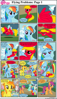 MLP FiM: Flying Problems: Page 1 by DarthGoldstar710