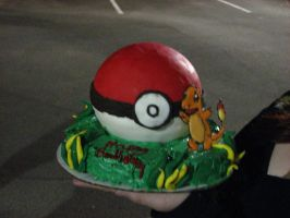 Pokemon Cake by Parallelogasm