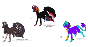 More Monster Scenedog Adopts - Adopted by Feralx1