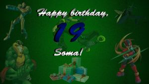 Happy 19th Birthday Soma Hiru by JanetAteHer