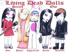 Living Dead Dolls Series 1 by spookydarling