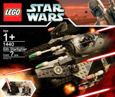 *NEW* Darth Vader's Sith Starfighter by hk-1440