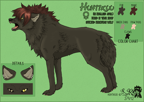 Huhtikuu .:Reference sheet:. (old) by Saiccu