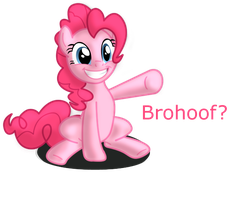 Pinkie Pie Wishes To Brohoof You by ikillyou121