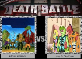 DB Idea: Extreme Dinosaurs VS Kung Fu Dino Posse by JefimusPrime