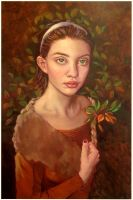 Christiana (1)..oils by xxaihxx