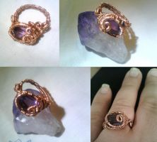 amethyst ring by PK-Photo