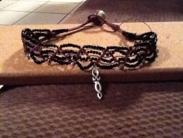 Goddess Choker by AbsyntheMyndedArt