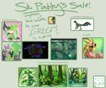 ST. PATTY'S DALE SALE! Commissions! by UltimateSassMaster