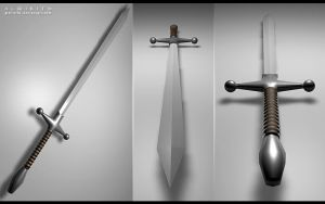 Two Handed Sword by Almirith7