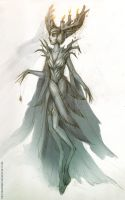 Forest maiden by FirstKeeper