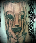 Corey Taylor Tattoo By Nathan Smith by NathanLeeSmith