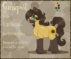 SunSpot Refsheet by Klumpeh