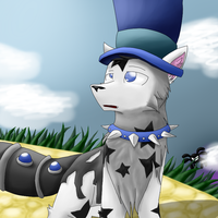 This is my main arctic wolf on Animal Jam by GoodKwolf