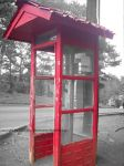 Red Phone Booth by oborosama
