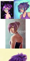 6 years of progress by NatSmall