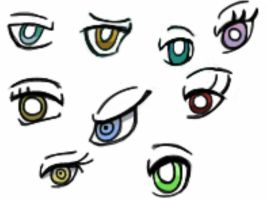 Eyes by Enemom