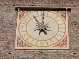 Old Clock III by eugeal-stock