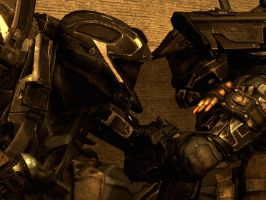 Halo Reach: we stick together by purpledragon104