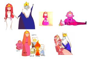 Adventure time Sketches by gicouy