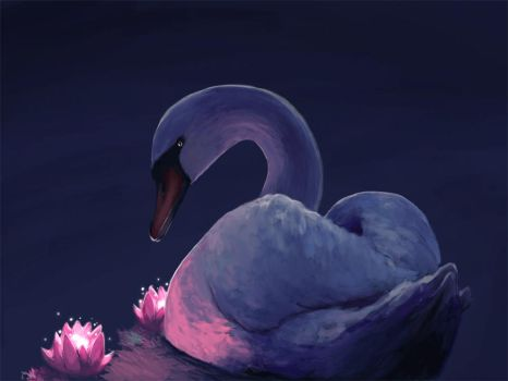 Swan by Peachified