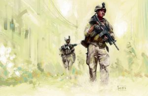 US Marines by popChar