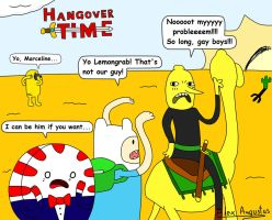 Hangover Time by Alecomics