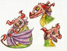 colorful dragon by LopezCS4