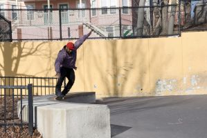 Roller Blading the Wall 12 by Miss-Tbones