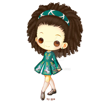Irish dancer by Gya