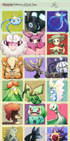 Pokemon Type Meme by LimeRa