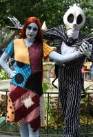Jack and Sally 09 by DisneyLizzi
