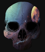 Super Spooky Space Skulls by EarlyRise
