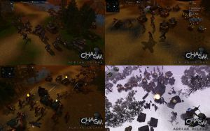 Chasm in Game Screens by DelphaDesign